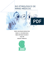 Glosario Etimológico de Término Médicos