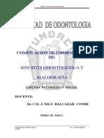 Compilacion de Informacion de Sinusitis -Sialografia
