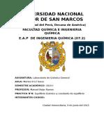 Informe N8 Quimica General