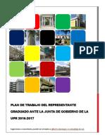 Plan de Trabajo para la Junta de Gobierno de la UPR