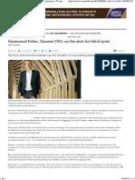 Emmanuel Faber, Danone CEO_ on the Alert for Blind Spots - FT