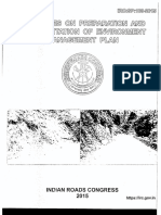IRC SP 108-2015 Guidelines for Prep. & Maintenance of Env. Mgmt. Plan