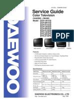 TV CM-003 Daewoo