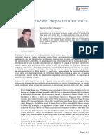 Contratacion Deportiva en Peru