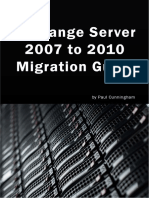 Exchange 2007 to 2010 Migrating Guide
