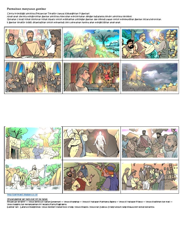 Cerita Paskah Permainan