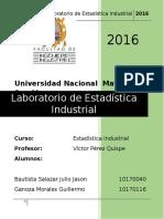 Trabajo Estadistica Industrial