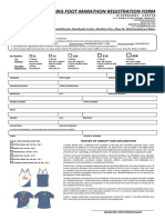 Big Foot Marathon 2016 Registration Form
