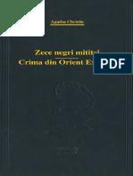 CHRISTIE, Agatha - Zece negri mititei & Crima din Orient Express (scan).pdf
