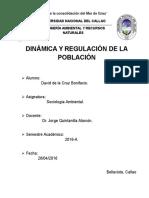 Dinámica y Regulación de La Población