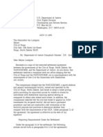US Department of Justice Civil Rights Division - Letter - tal418