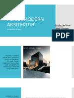 Purna Modern Arsitektur