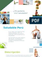 Texto Promocional - Perú Saludable