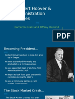 copy of herbert hoover and administration