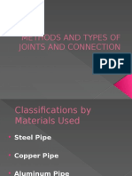 Methods and Types of Joints and Connection