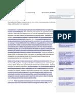 Post Bureaucracy vs Bureaucracy (Sample Essay - Business)