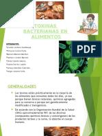 toxinas bacterianas en los alimentos