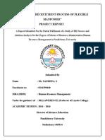 A STUDY ON RECRUITMENT PROCESS OF FLEXIBLE MANPOWER.docx
