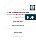 lMETOCLOPRAMIDA