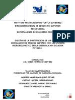 Sustitución de Un Sistema Hidráulico Por Un Hidroneumático en La Distribución de Agua.
