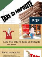 Cele Mai Amuzante Impozite