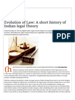 Evolution of Law