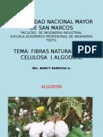 Fibrologia Fibras Naturales Algodon
