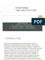 Relationship Between Structure and Architecture Presentation[1]