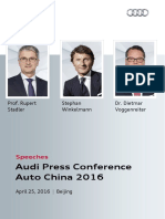 Speeches Auto China 2016