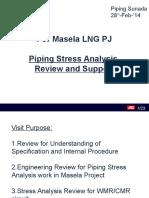 Masela LNG Stress Analysis