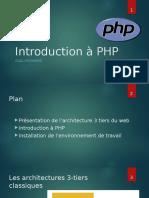 01 - Introduction à PHP