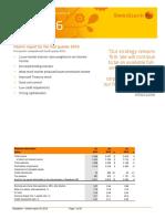 Swedbank Interim Report Q1 2016