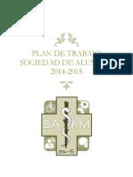 Plan de Trabajo para sociedad de alumnos