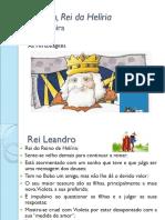 Leandro-Rei-da-Heliria, De Alice Vieira - Personagens