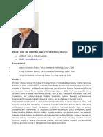 Profil Prof. Dr. Ir. Utomo Sarjono Putro, m.eng
