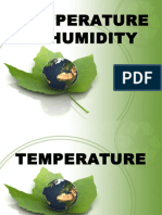 Temperature & Humidity