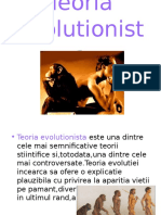Teoria evolutionista