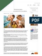 10 Maravillosas Técnicas Para Fomentar El Autocontrol en Los Niños