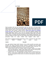 Ragam Penyebab Pencemaran Tanah
