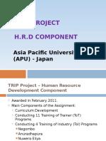 Trip Project Presentation