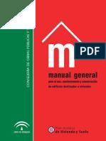 Manual General Para Uso y Mantenimiento de Las Viviendas (FONTANERIA Y ELECTRICIDAD)
