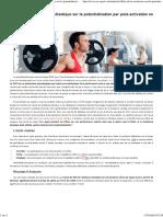 Sciences du Sport _ Effets de la résistance élastique sur la potentialisation par post-activation en sprint.pdf