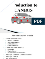 End to End Information about CANBUS