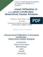 eGovernment utilization in european landscape