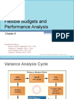 Flexible Budgets andPerformance Analysis