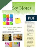 sticky note strategy