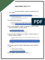 BALOTARIO CAP 8 Y 9