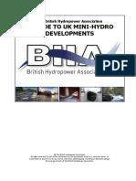 A Guide to UK Mini-hydro Development Ver.3