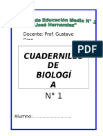 Cuadernillo Bio 1