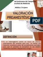 VALORACIÓN PREANESTÉSICA